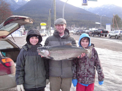 cleary family lands 14.5lb bow